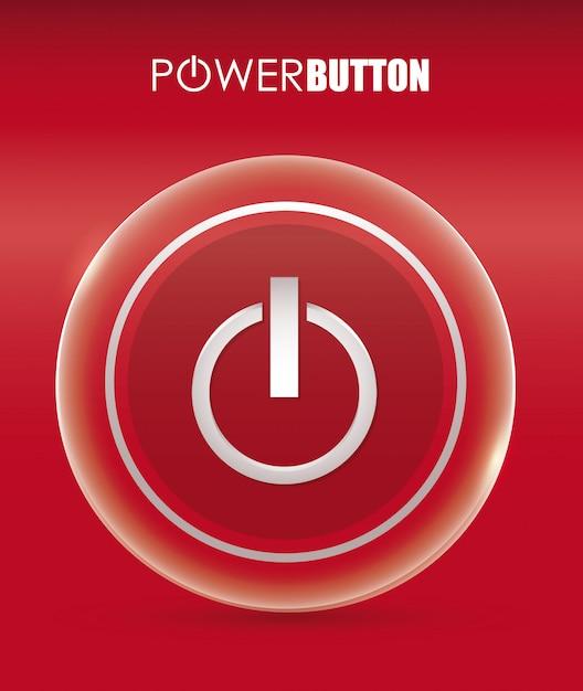 Power design. illuistration Premium Vektoren