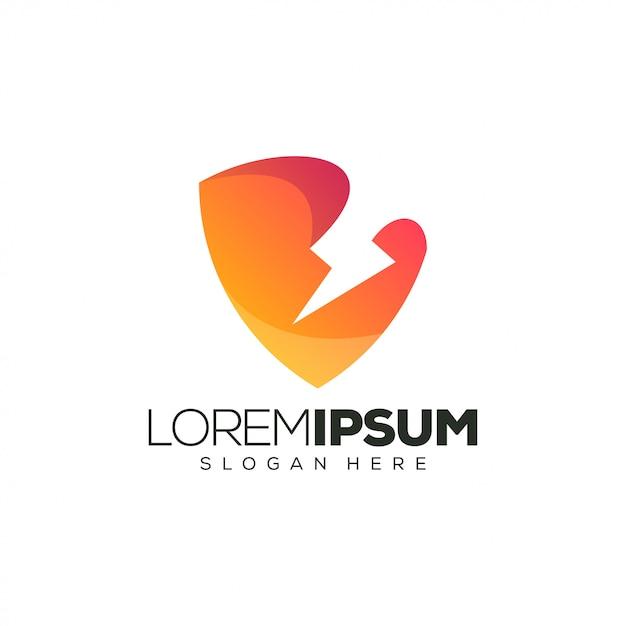 Power logo design weinflaschendesign. illustration Premium Vektoren
