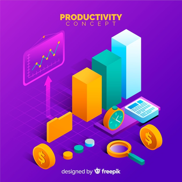 Produktivität Kostenlosen Vektoren