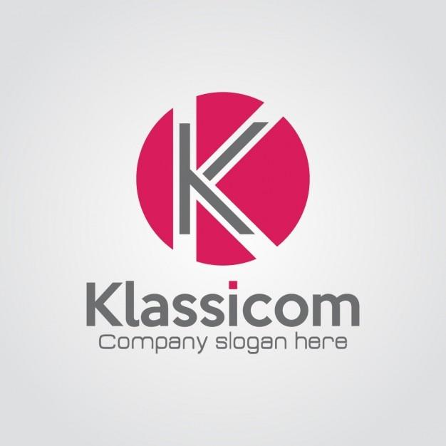 Professionelle buchstabe k logo Kostenlosen Vektoren
