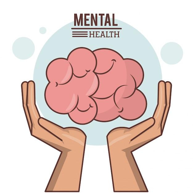 Psychische gesundheit Premium Vektoren