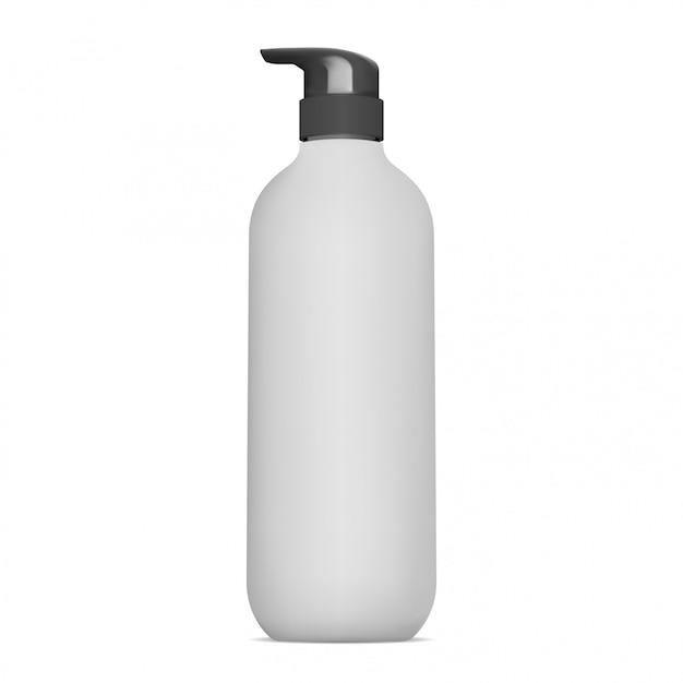 Pumpspenderflasche. verpackung für kosmetische lotionen Premium Vektoren