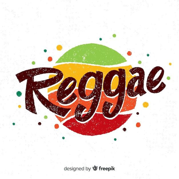 Punkte reggae hintergrund Kostenlosen Vektoren