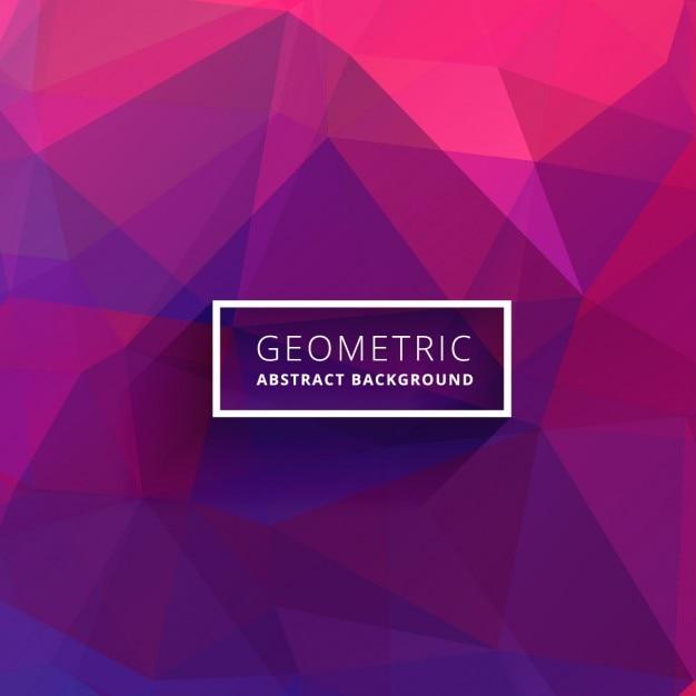Purple pink abstract polygonalen hintergrund Kostenlosen Vektoren