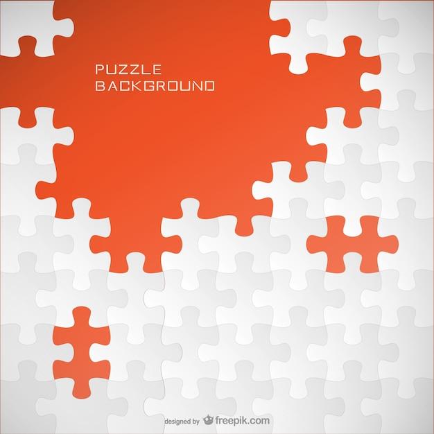 Puzzle-hintergrund-vorlage Kostenlosen Vektoren