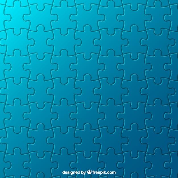 Puzzle-muster Premium Vektoren