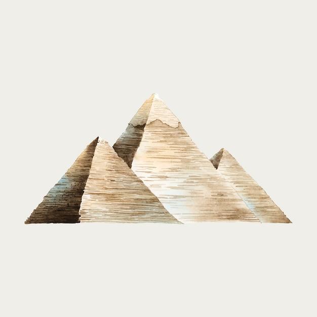Pyramiden Kostenlosen Vektoren