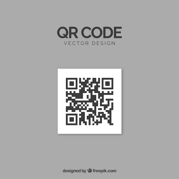 Qr code Kostenlosen Vektoren