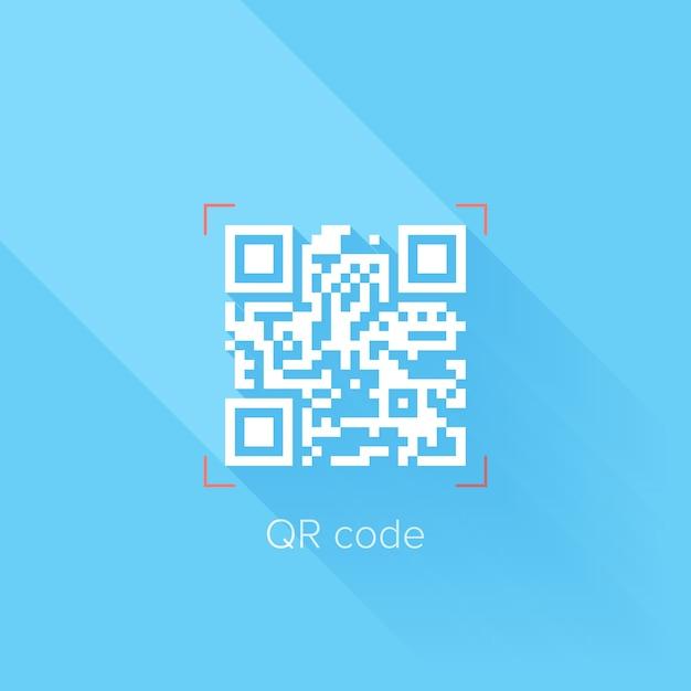 Qr-code Premium Vektoren