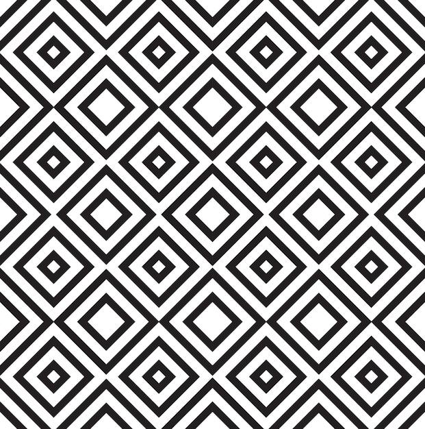 Quadrate Muster Hintergrund Kostenlose Vektoren