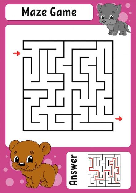 Labyrinth Spiele Für Kinder