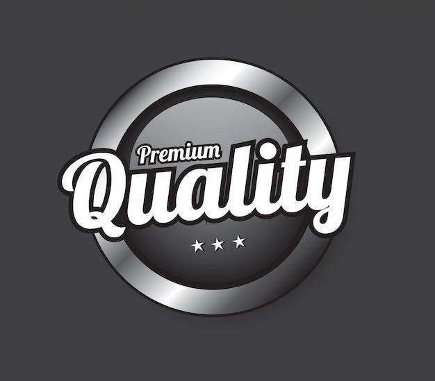Qualitätstaste Premium Vektoren