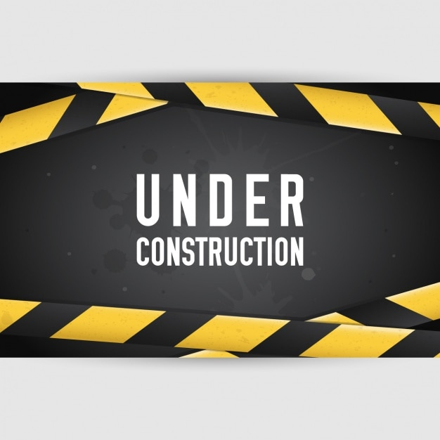 """Under construction"" Design Kostenlose Vektoren"