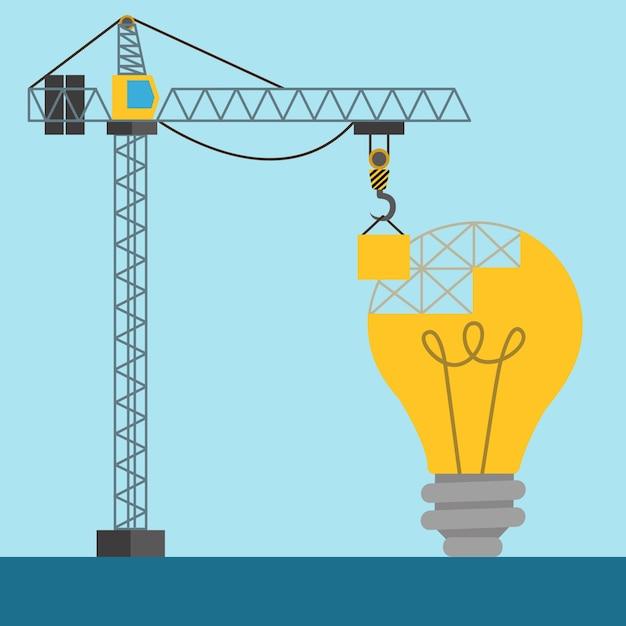 """""""Under construction"""" Hintergrund-Design Kostenlose Vektoren"""