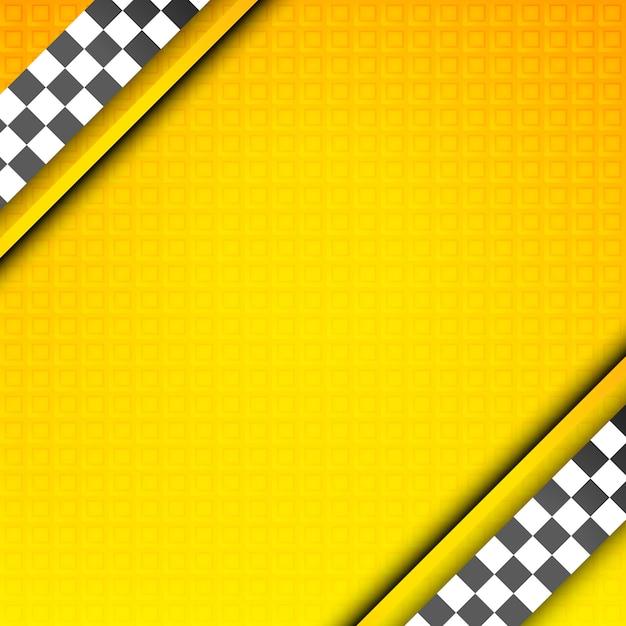Racing vorlage, taxi hintergrund Premium Vektoren