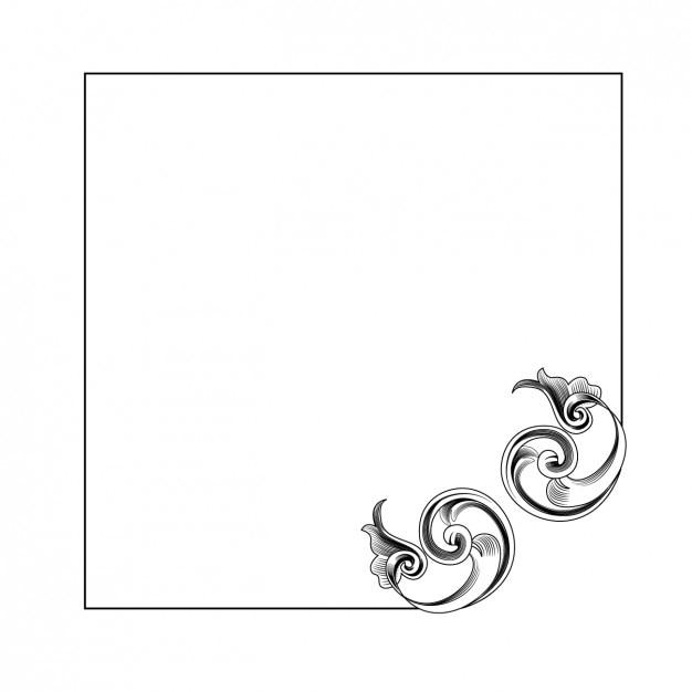 rahmen mit ornament design download der kostenlosen vektor. Black Bedroom Furniture Sets. Home Design Ideas