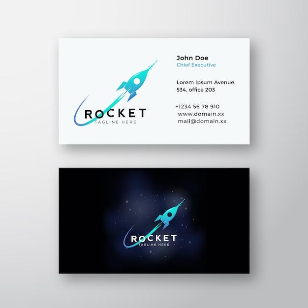 Raketenraumschiff und cosmic Kostenlosen Vektoren