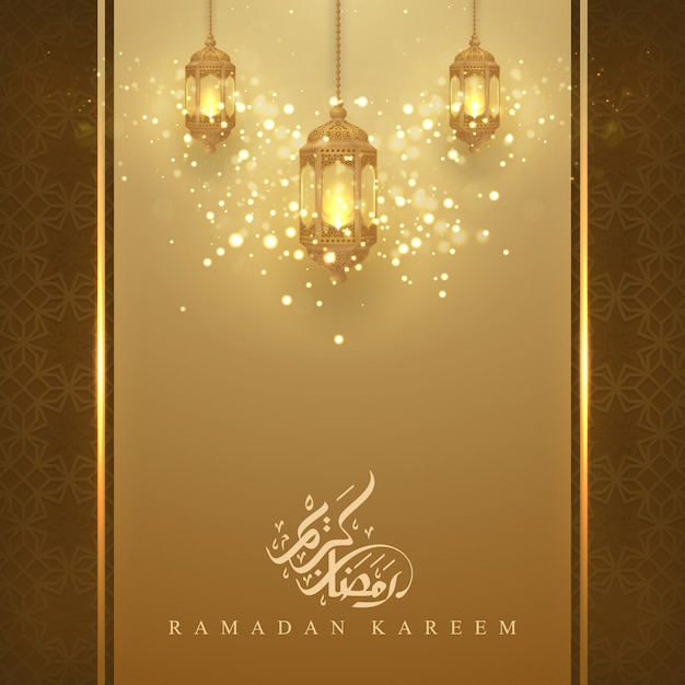 Ramadan kareem Premium Vektoren