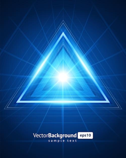 Rasterfeldeffekt des abstrakten raumes der virtuellen realität 3d. Premium Vektoren