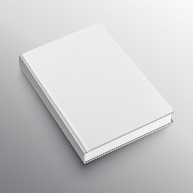 realistisch Buch Mockup-Vorlage Kostenlose Vektoren