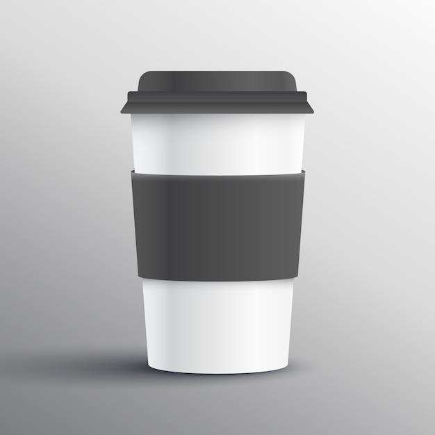 Realistisch Kaffeetasse Vorlage Design-Objekt   Download der ...