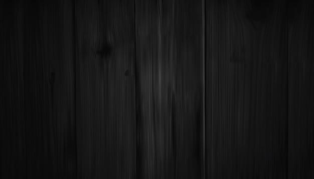 Realistische dunkelbraune hölzerne wand Premium Vektoren