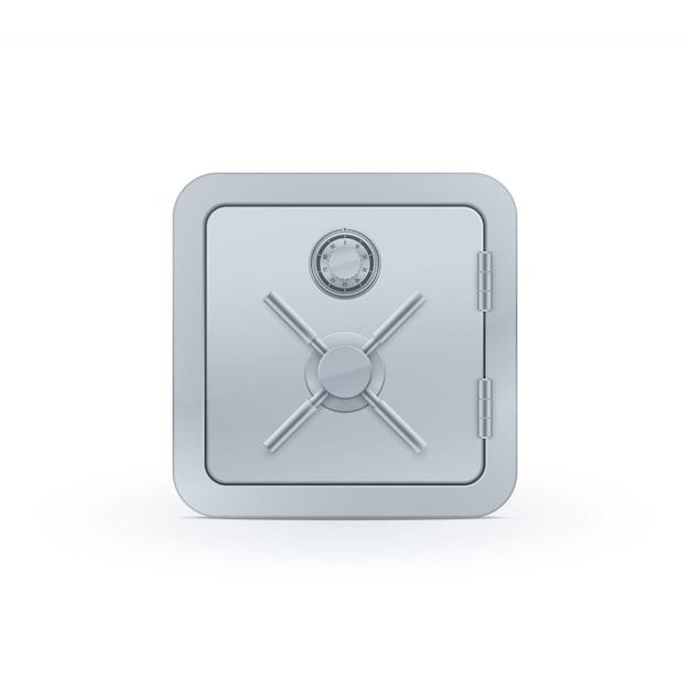Realistische safe-symbol Premium Vektoren