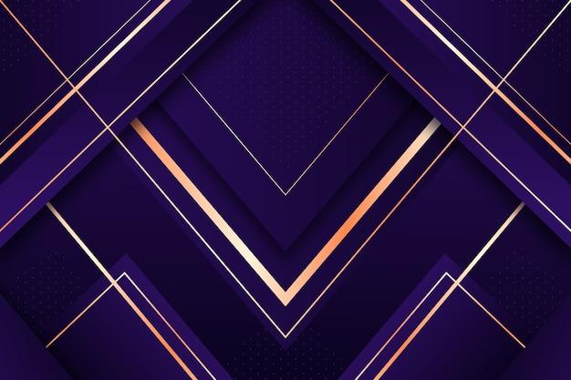 Realistischer eleganter geometrischer formhintergrund Kostenlosen Vektoren