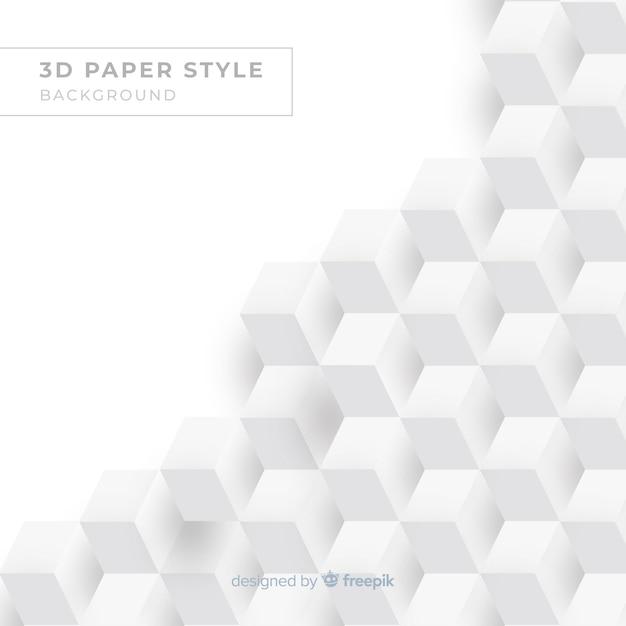 Realistischer papiereffekthintergrund Kostenlosen Vektoren
