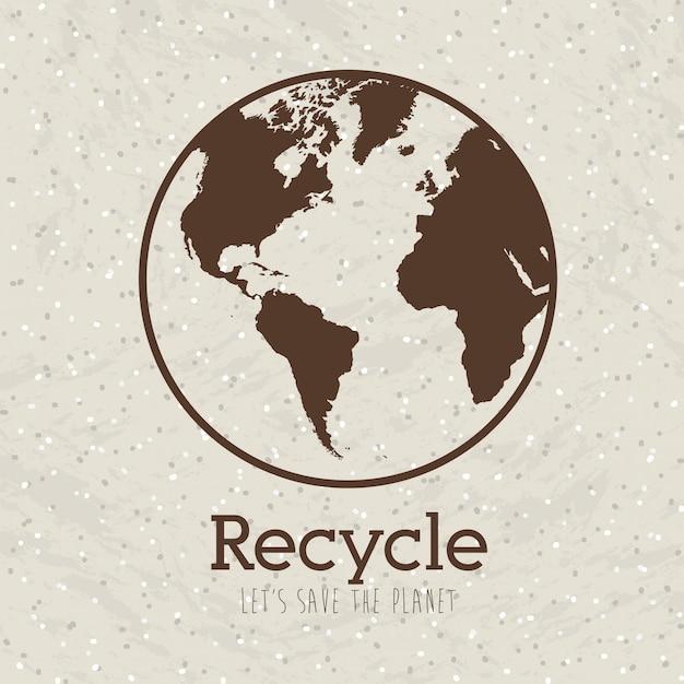 Recyceln Premium Vektoren