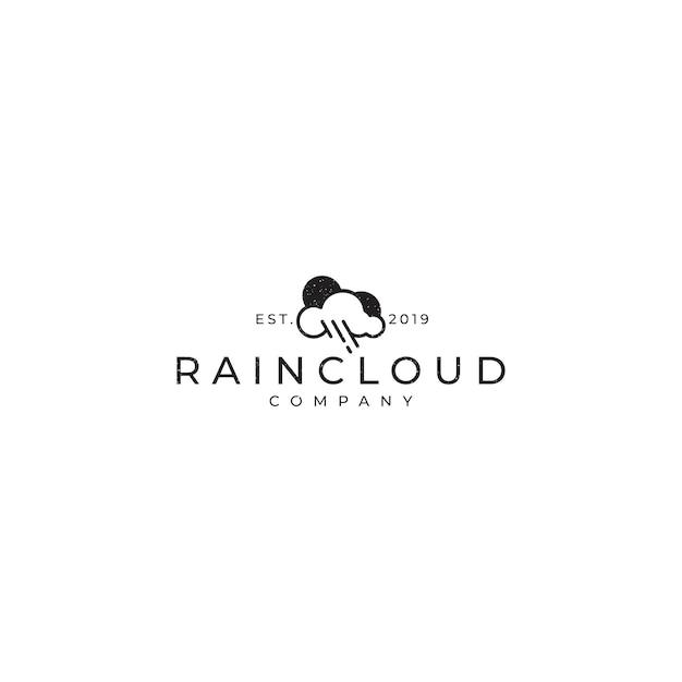 Regenwolke Premium Vektoren