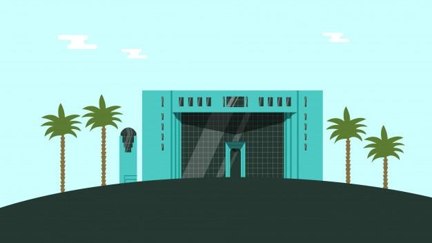 Regierungsgebäude Premium Vektoren