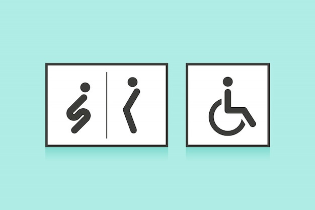 Für frau und symbol mann Gendersymbole
