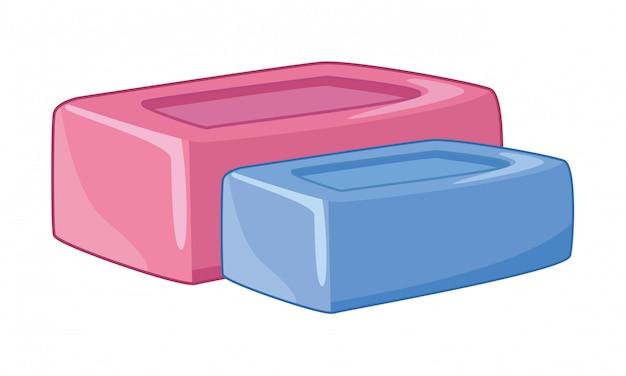 Reinigungs- und hygienezubehör Premium Vektoren