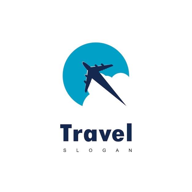 Reise-logo-design Premium Vektoren