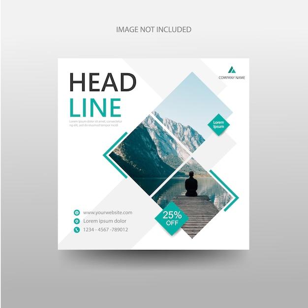 Reisen banner flyer broschüre broschüre vorlage Premium Vektoren