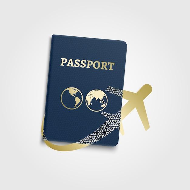 Reisendes konzept des vektors Premium Vektoren