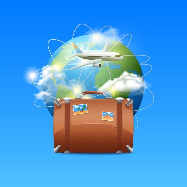 Reiseplakat Kostenlosen Vektoren