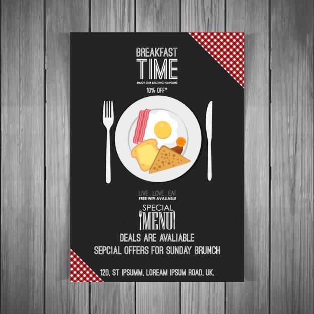 Restaurant-Menü-Vorlage | Download der kostenlosen Vektor