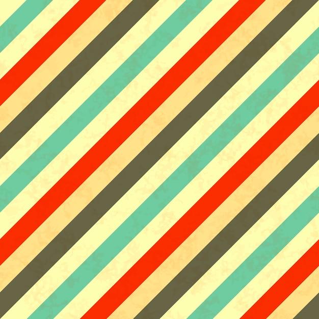 Retro Farben.Retro Farben Der Schrägstreifen Nahtloses Muster