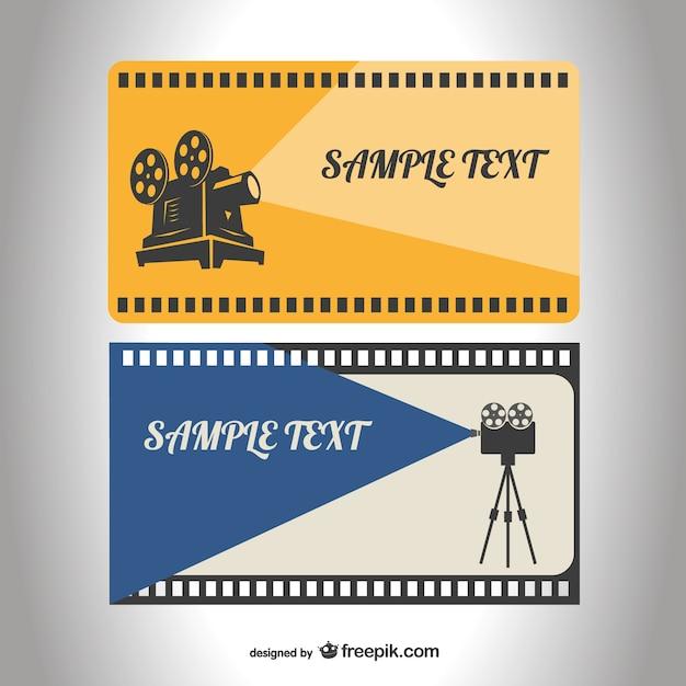 Retro-Filmrolle Vorlage | Download der kostenlosen Vektor