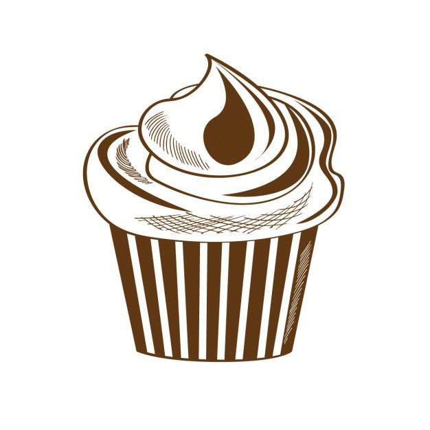 retro kuchen design download der kostenlosen vektor