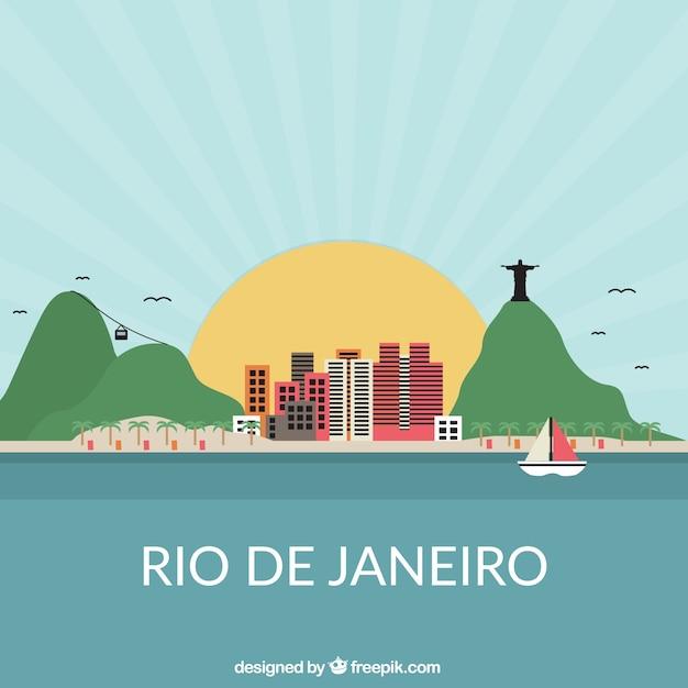Rio de janeiro Kostenlosen Vektoren