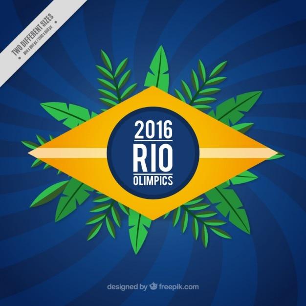 Rio olimpics hintergrund Kostenlosen Vektoren