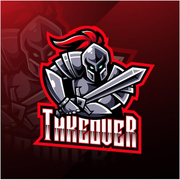 Ritter sport maskottchen logo design Premium Vektoren