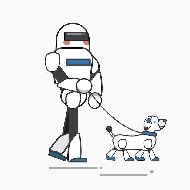 Roboter Kostenlosen Vektoren