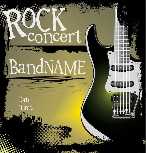 Rock-banner Premium Vektoren