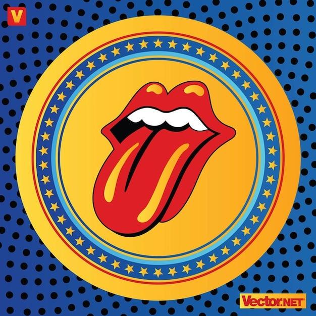 Rolling Stones Lippen Logo Download Der Kostenlosen Vektor