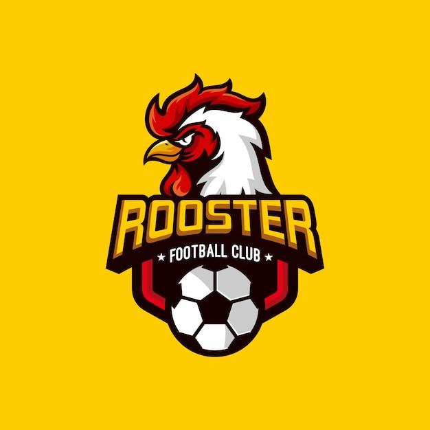 Roosters football club-logo Premium Vektoren
