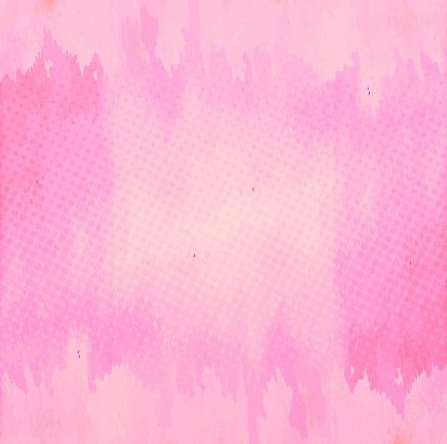 Rosa aquarell hintergrund Kostenlosen Vektoren